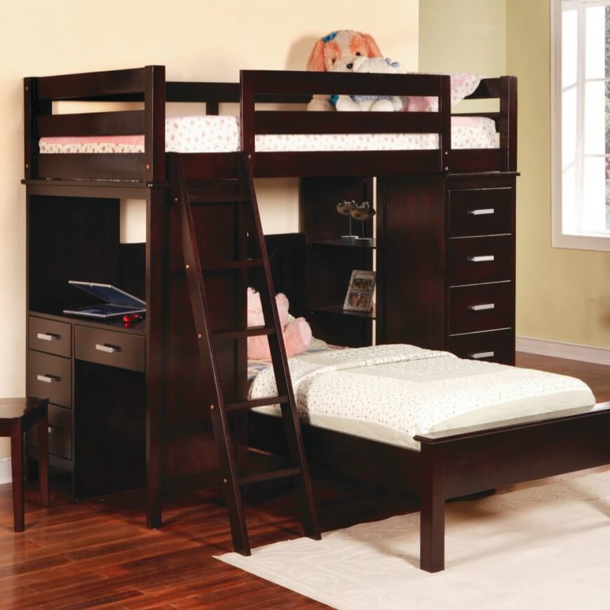 Twin Bunk Beds and Lofts