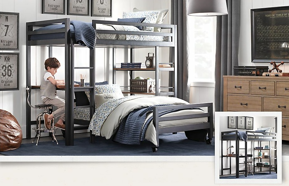 Twin Bunk Beds for Boys