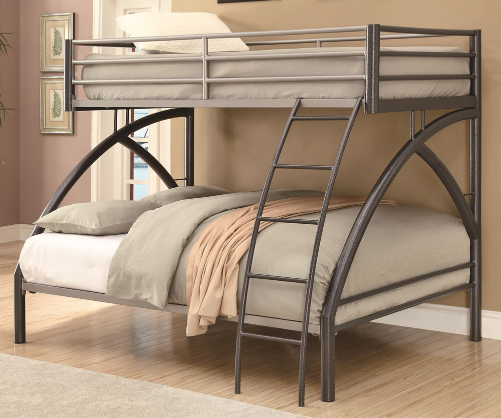 Twin Over Full Metal Bunk Beds