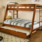 Twin over Full Wood Bunk Bed Pictures
