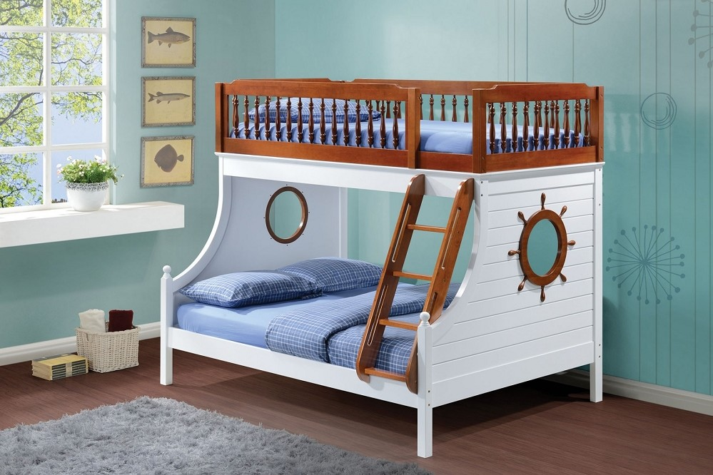 White Bunk Beds Twin Over Full Ideas