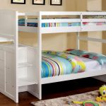 White Twin over Full Bunk Bed Ideas