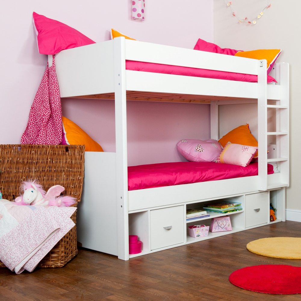 White Types Of Bunk Beds