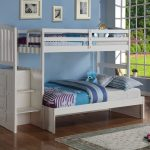 Wonderful White Bunk Beds Twin Over Twin