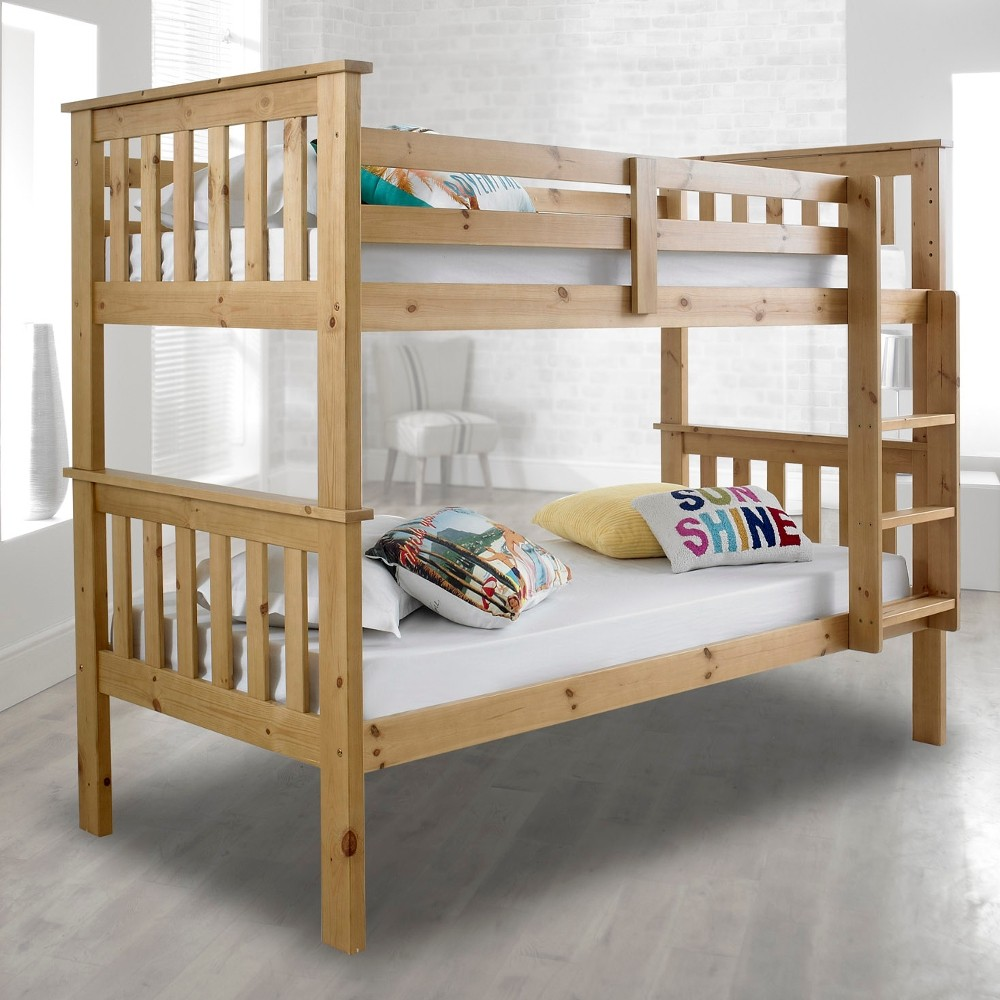 Wood Bunk Bed Dimensions
