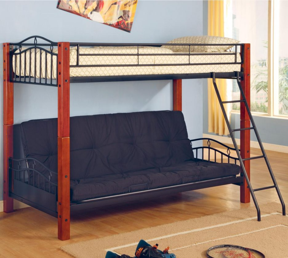 Wood Full Over Futon Bunk Bed