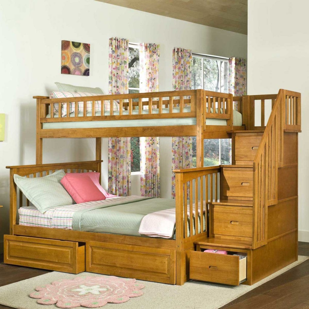 Woodcrest Bunk Beds Style