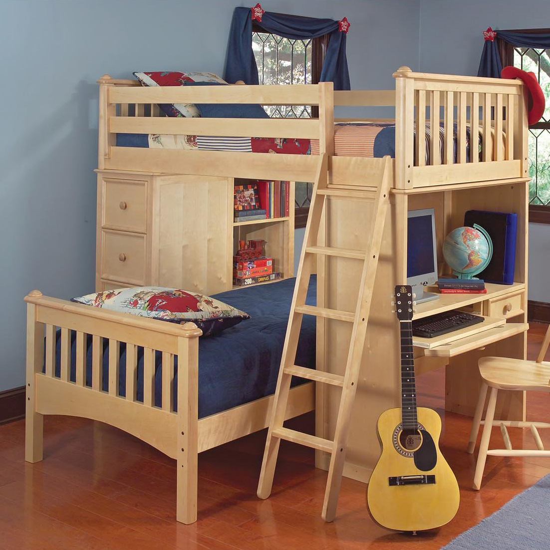 Wooden Bunk Bed Huggers