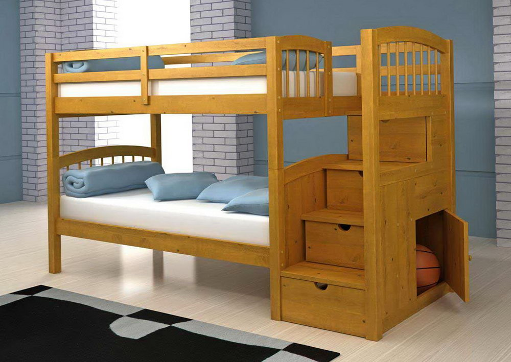 Wooden Rooms to Go Bunk Beds