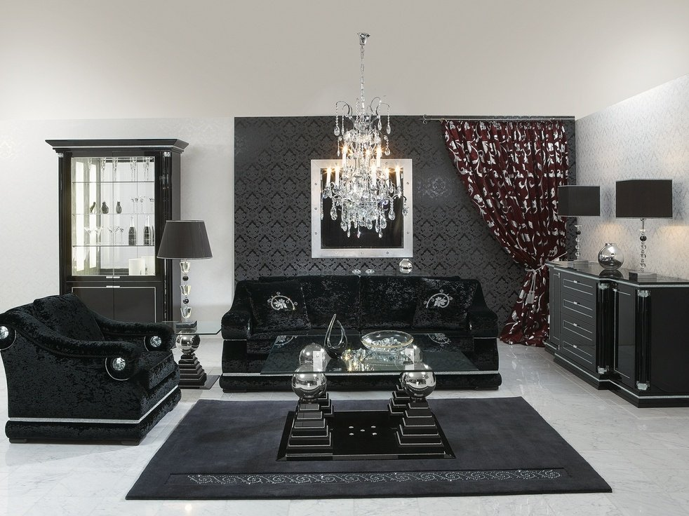 Image of: 28 Black Silver Decoration Home 25 Cozy, Relaxed and Chic Bedding Sets