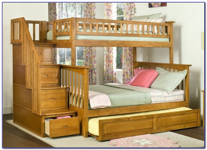 Image of: Agreeable Bunk Bed Stairs Sold Separately