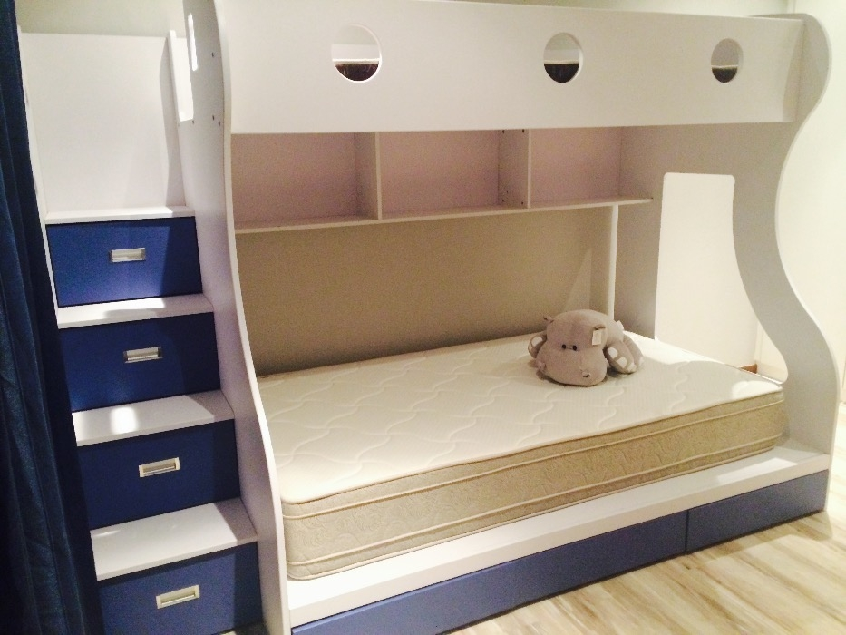 Image of: Bunk Bed Stairs With Drawers