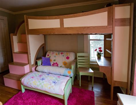 Image of: Bunk Beds With Stairs Cheap
