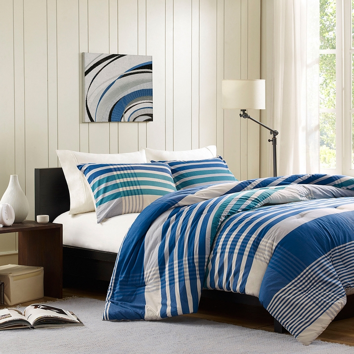 Image of: Bed Sets Stripe Twin