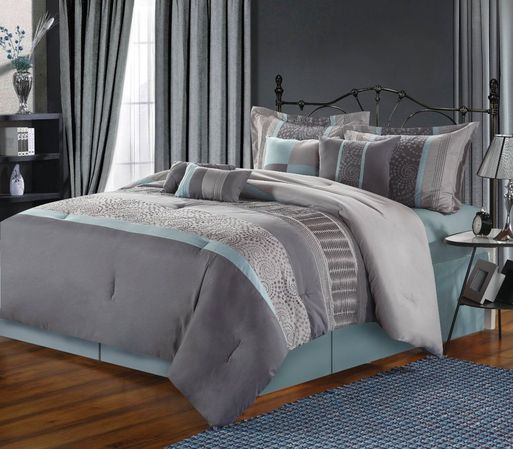 Image of: Bedroom Awesome Bedspread Teen Decor Bed Ideas Grey And Teal Bedding Sets Creative