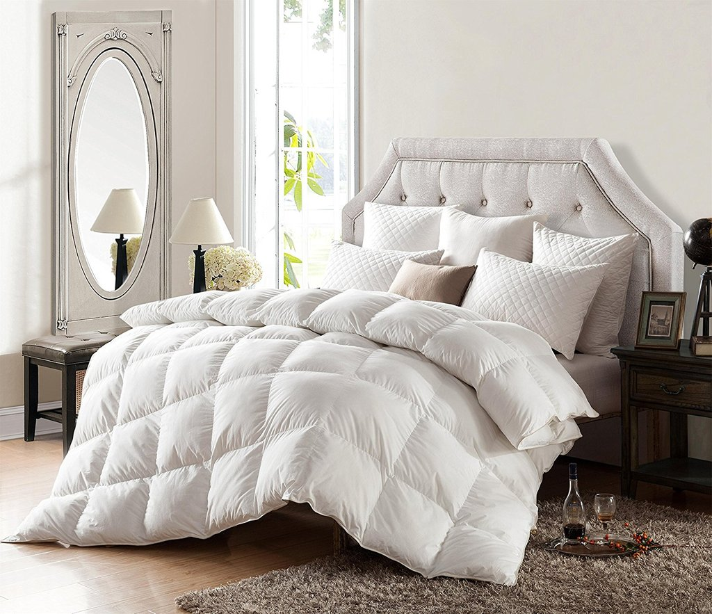 Image of: Bedroom Cal King Bedding White Mattress Foam Design Top Advice on Faux Fur Bedding