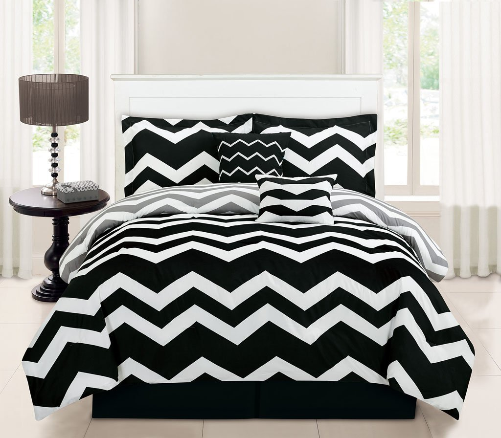 Image of: Black And White Bedding Target