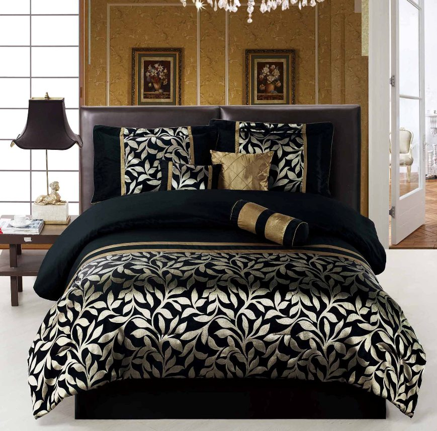 Image of: Black And White Comforter Sets
