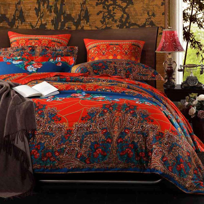 Image of: Bohemian Bed In A Bag