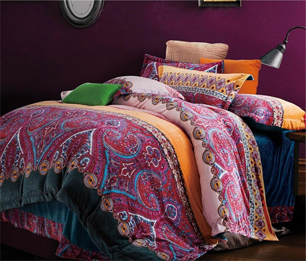 Image of: Bohemian Exotic Bedding