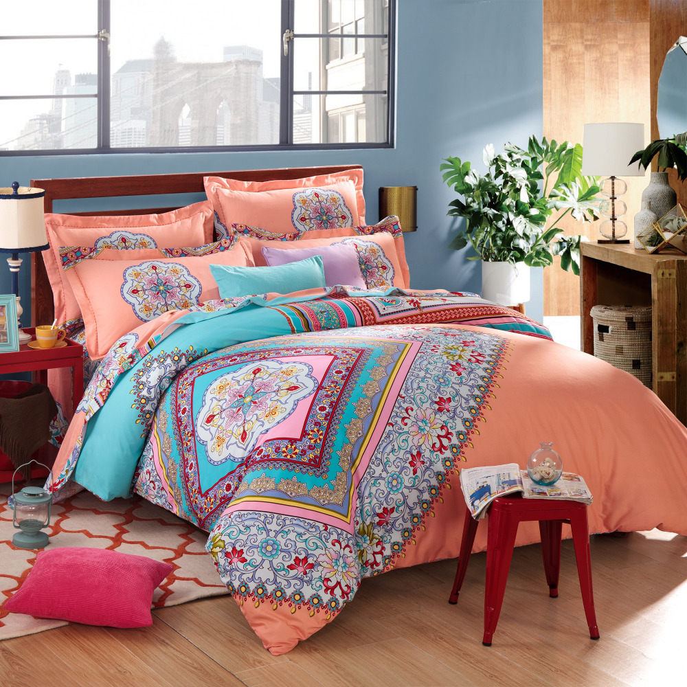 Image of: Boho Bed In A Bag