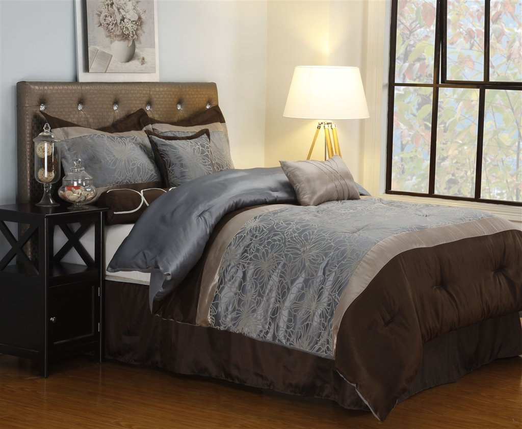 Image of: Brown Comforter Sets King Ideas