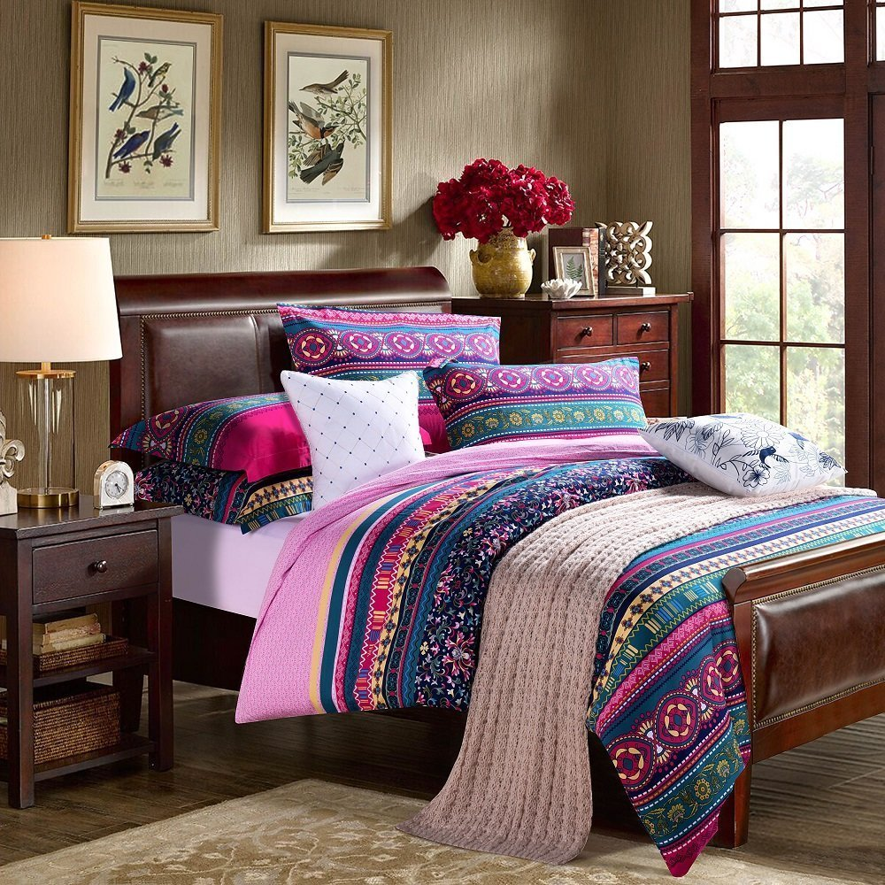 Image of: Cheap Bohemian Bedding