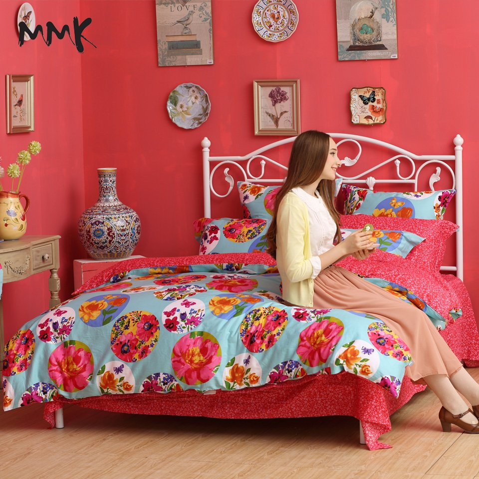 Image of: Chic Girl Bedding Flower Princess Queen King Size Bed Ideas for Princess Bedding Set Full