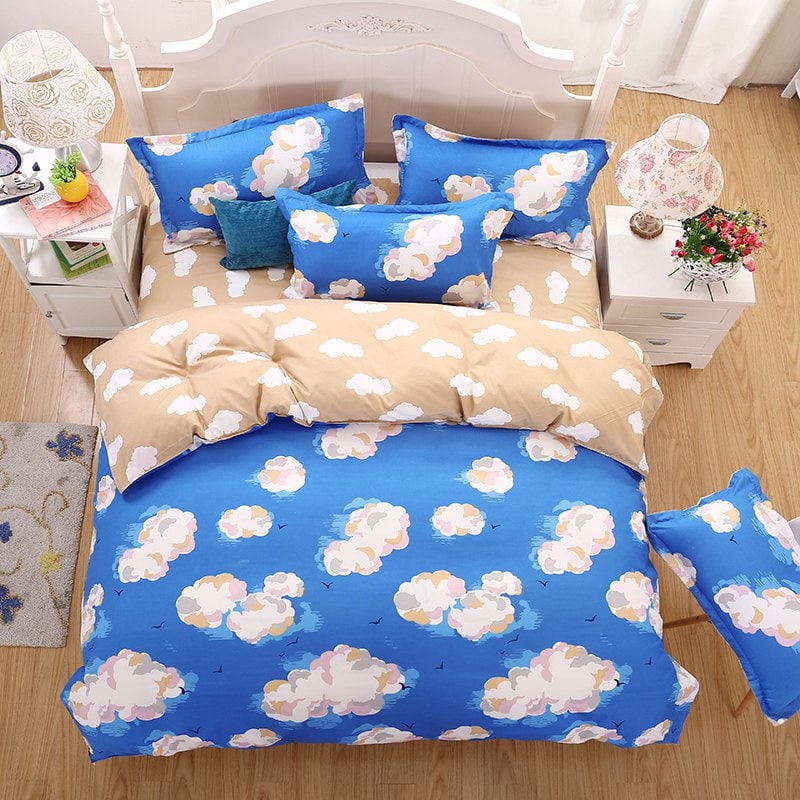Image of: Cloud Cotton Bedding Set