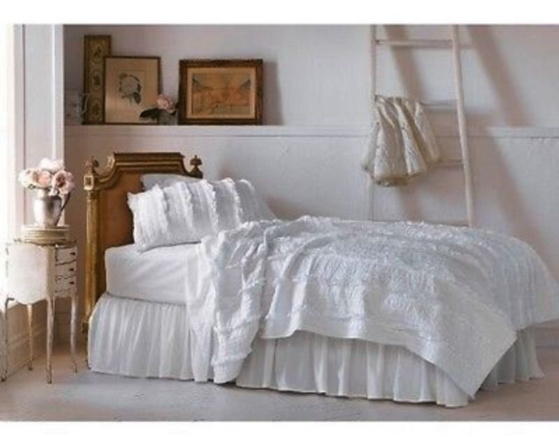 Image of: Comforter Quilt Cover Duvet Man Girls Bed Set Shabby Chic Cozy, Relaxed and Chic Bedding Sets