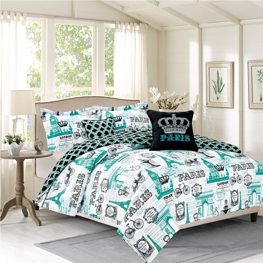 Image of: Eiffel Tower Bed Frame