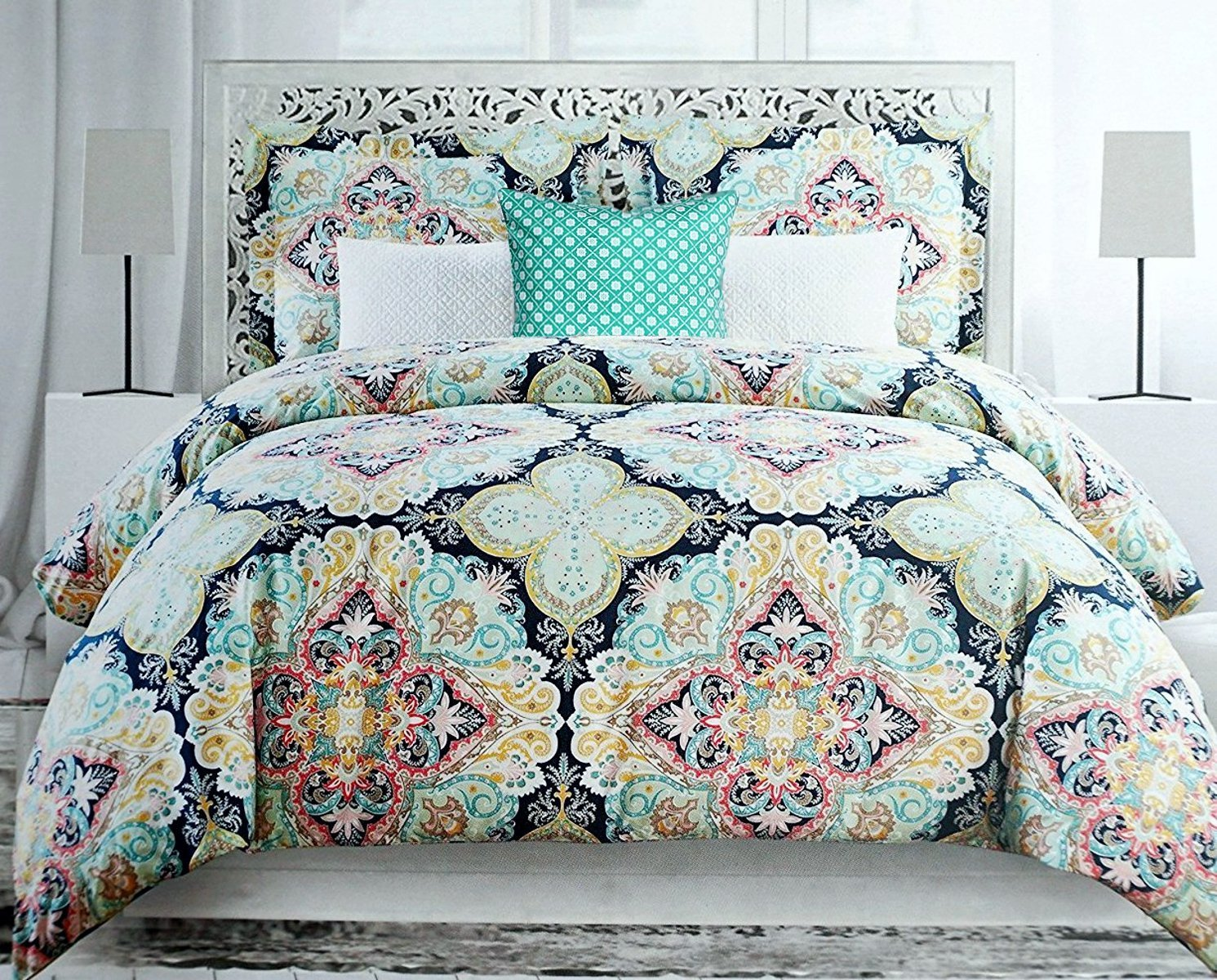 Image of: Girls Boho Bedding