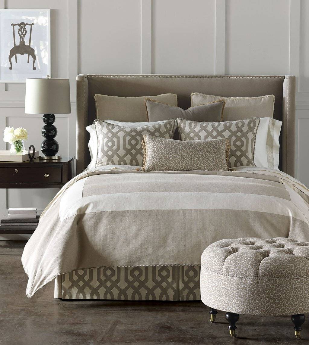 Image of: Luxury Bedding Eastern Accent Rayland Collection Cozy, Relaxed and Chic Bedding Sets