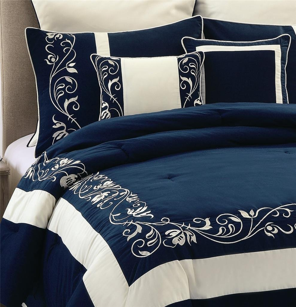 Image of: Navy Comforter Set King 28 Image Modern Comforter Comfort and Freshness Bedding Sets for Guys