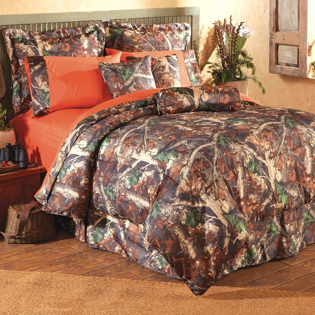 Image of: Oak Camo Bed Set How to Combine Bed Sets Twin