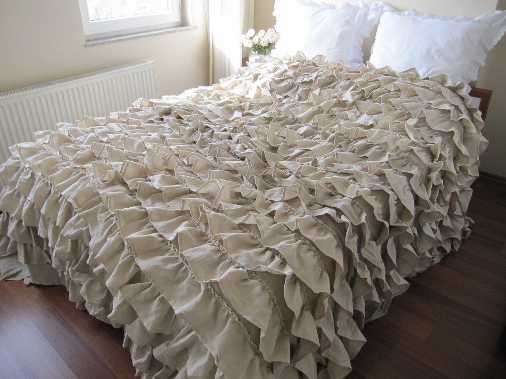 Image of: Shabby Chic Bedding Idea Diy Project Craft Idea Cozy, Relaxed and Chic Bedding Sets