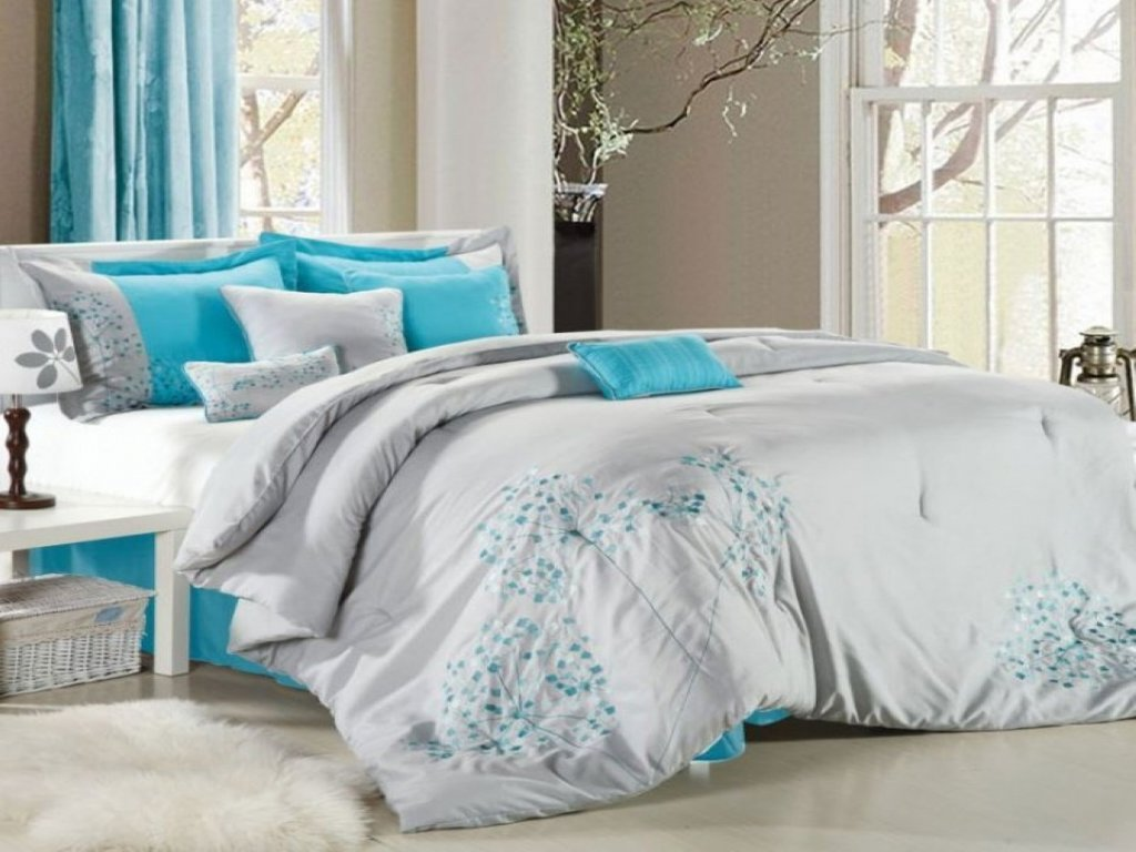 Image of: Teal Bedroom Curtains Grey Teal Bedding Set Cute Black Teal Bedding Interior Design Ideas Grey And Teal Bedding Sets Creative
