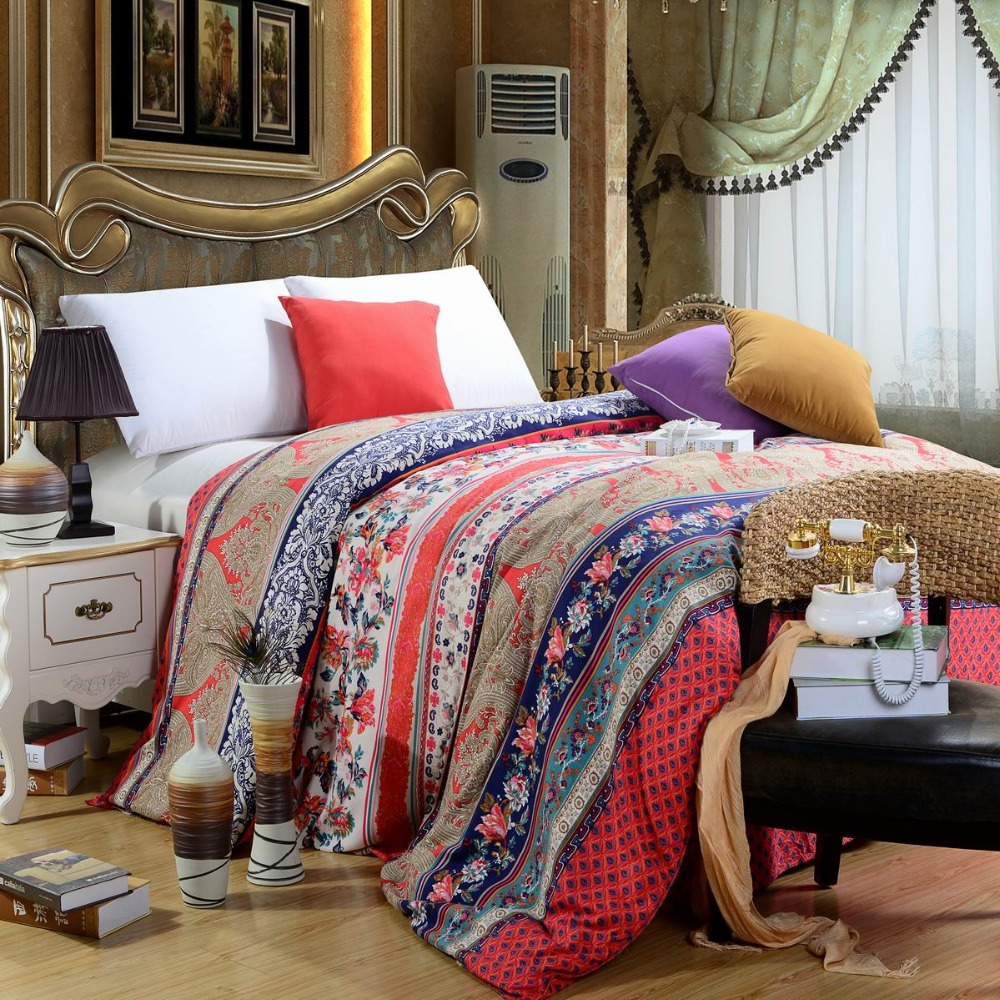 Image of: Teen Bohemian Bedding