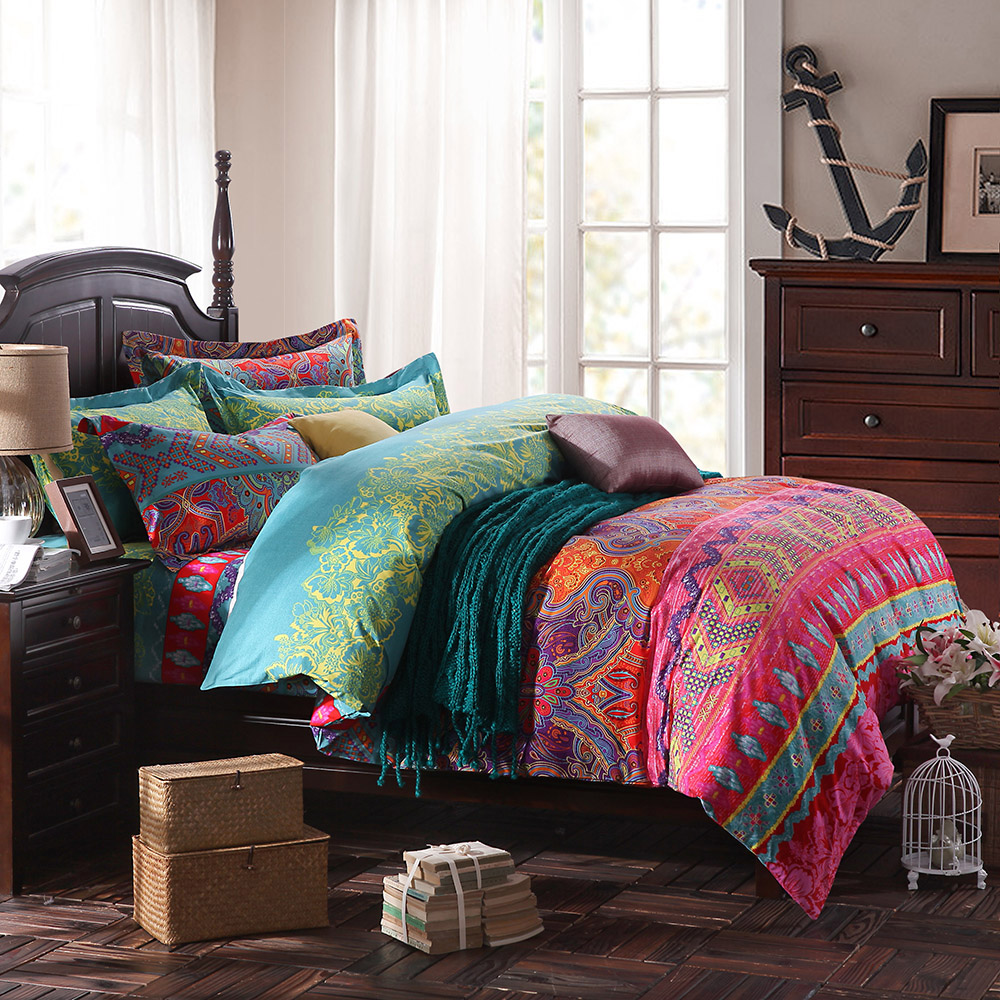 Image of: Teen Boho Bedding