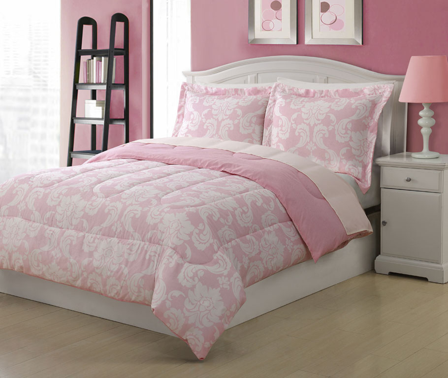 Image of: Twin Pink Bedspread