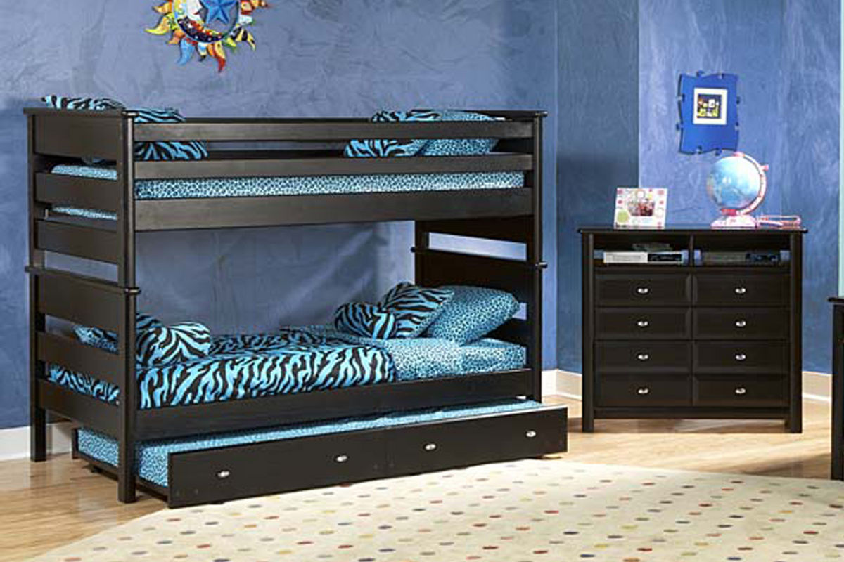 Black Bunk Bed