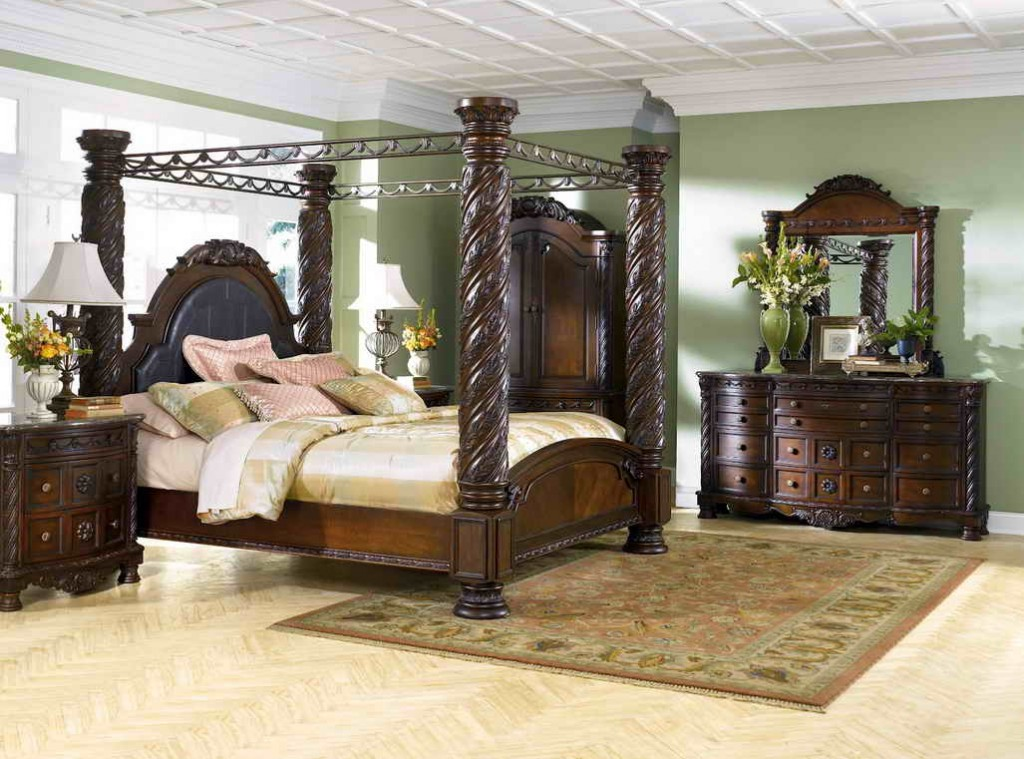 Image of: Ashley Furniture Bedroom Sets 14 Pieces