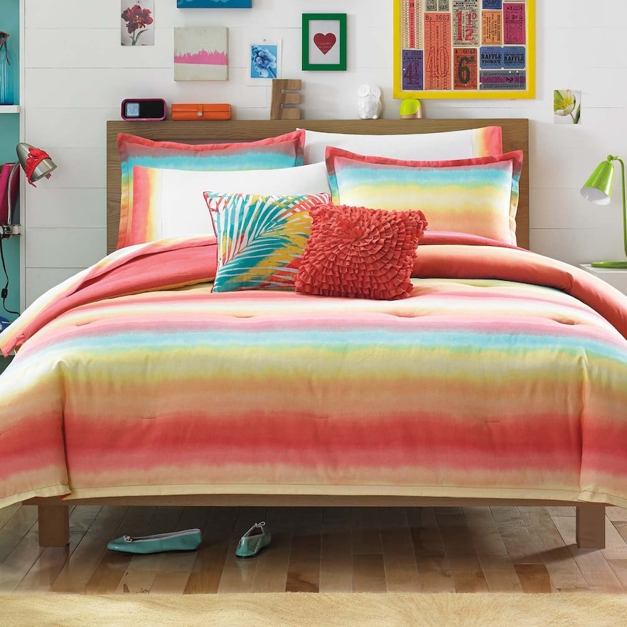 Image of: Bright Teen Bedding Kohl 39 Awesome Ideas Teen Bed Sets