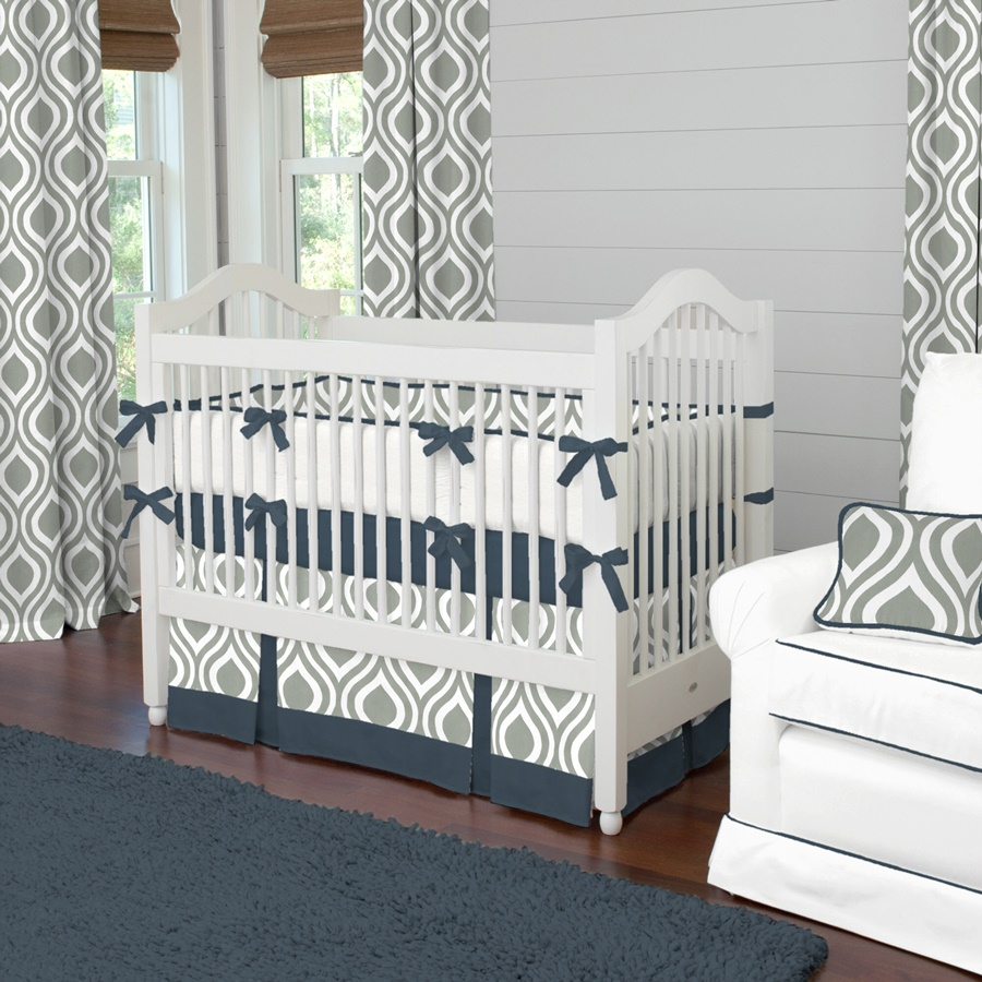 Image of: Cheap Modern Crib Bedding Sets Ideas