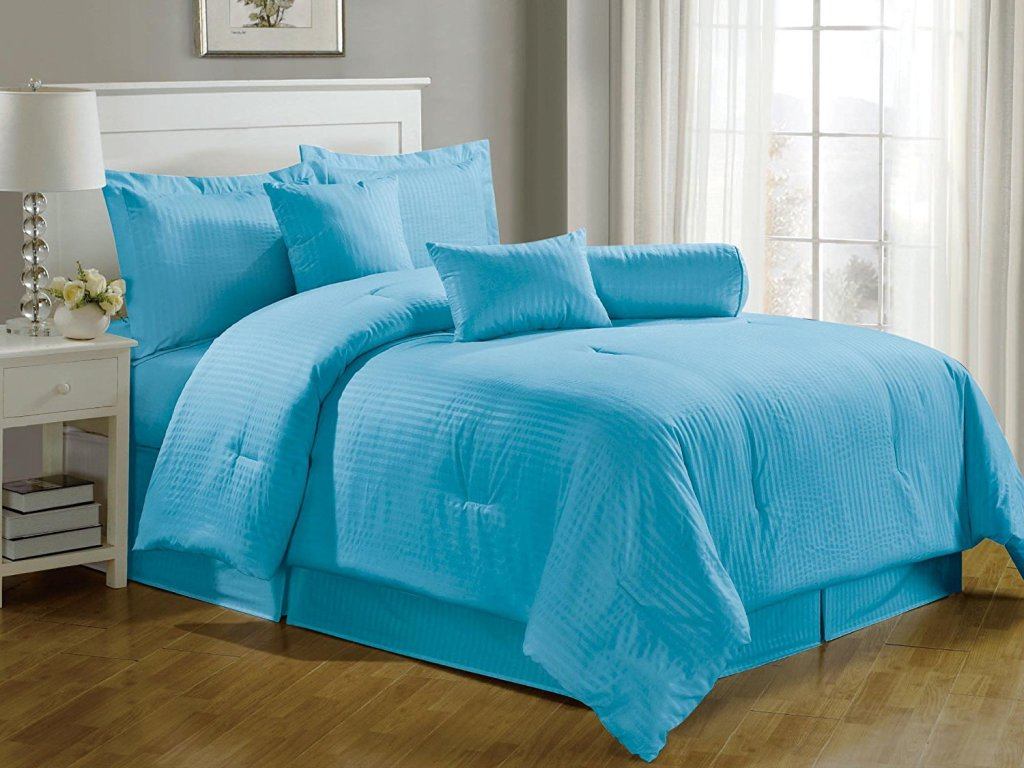 Image of: Choices of Tiffany Blue Bedding