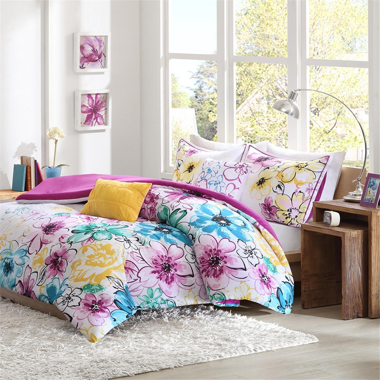 Image of: Cute Floral Bedding Sets
