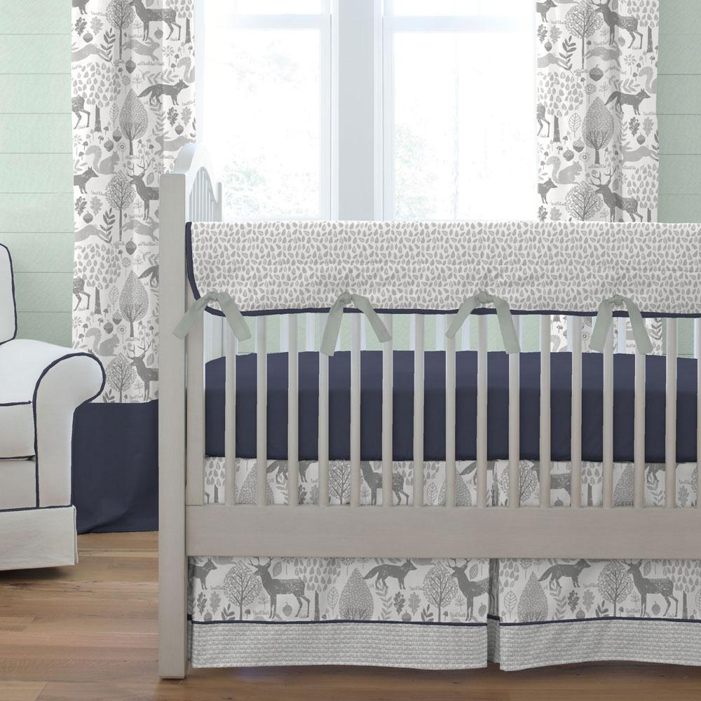 Image of: Modern Baby Boy Crib Bedding