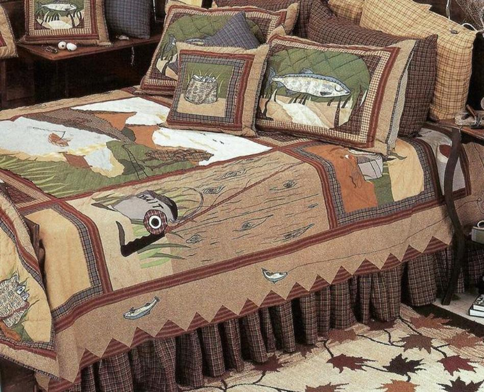 Image of: Rustic Wildlife Bedding Sets