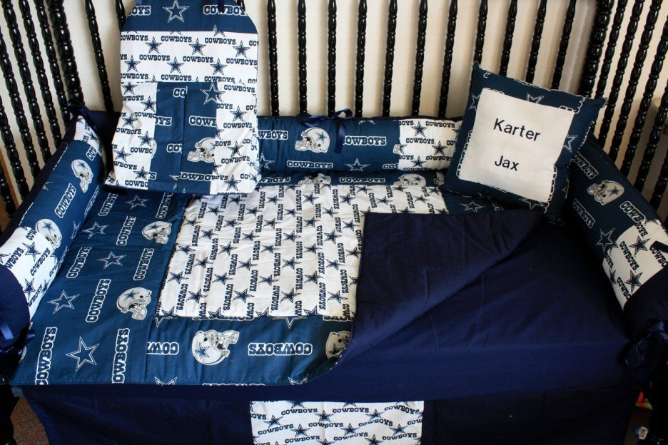 Image of: Sophisticated Modern Western Baby Bedding Star Cowboy Scheme Combined Dark Blue Accent Western Baby Bedding Nursery Theme