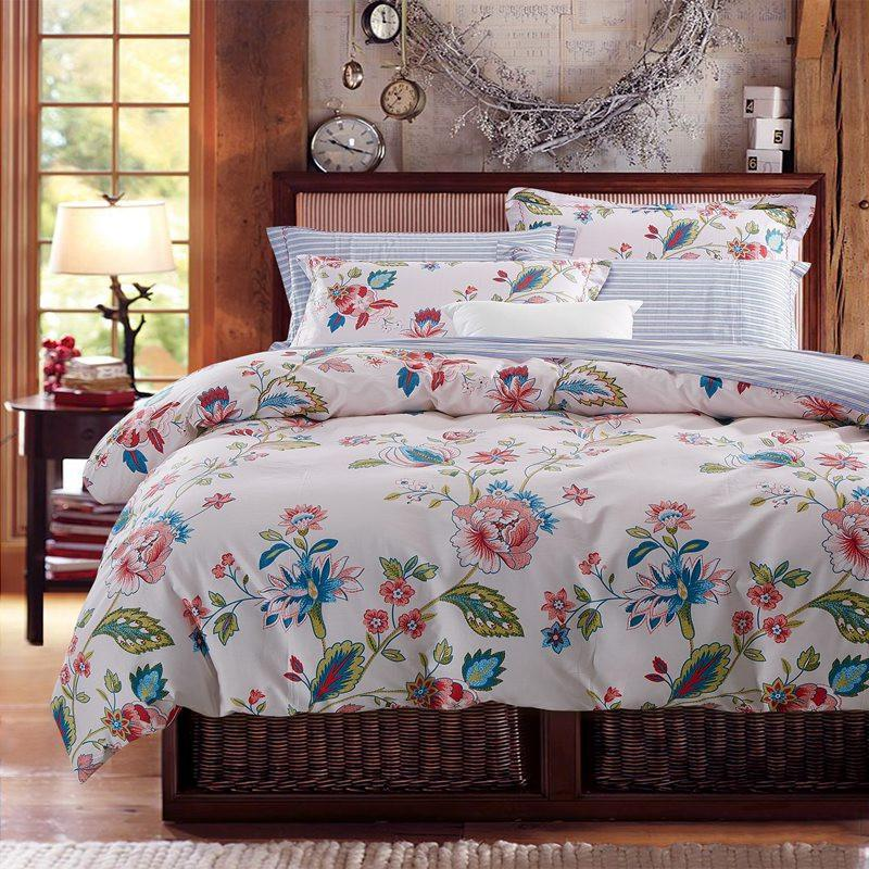 Image of: Style 3D Floral Bedding